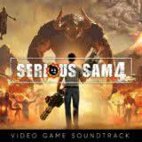 Маленькая обложка к диску с музыкой из игры «Serious Sam 4»