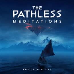 Обложка к диску с музыкой из игры «The Pathless: Meditations»