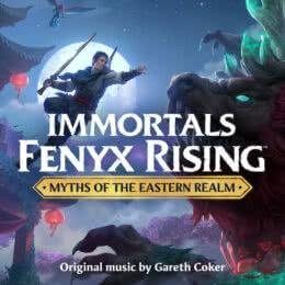 Обложка к диску с музыкой из игры «Immortals Fenyx Rising : Myths of the Eastern Realm»