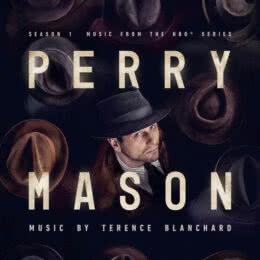 Обложка к диску с музыкой из сериала «Перри Мейсон (1 сезон)»
