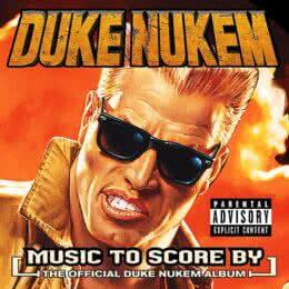 Обложка к диску с музыкой из игры «Duke Nukem»