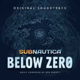 Обложка к диску с музыкой из игры «Subnautica: Below Zero»