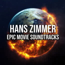 Обложка к диску с музыкой из сборника «Hans Zimmer: Epic Movie Soundtracks»