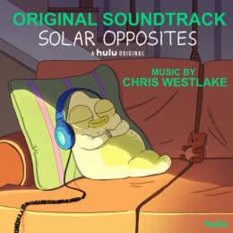 Обложка к диску с музыкой из мультфильма «Обратная сторона Земли»