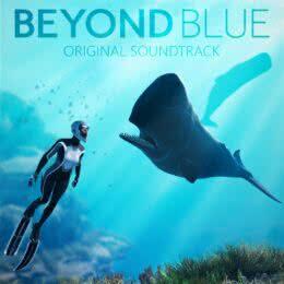 Обложка к диску с музыкой из игры «Beyond Blue»
