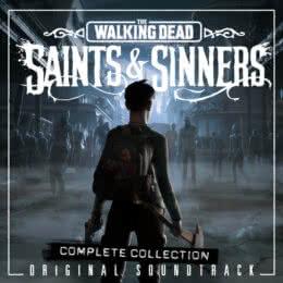 Обложка к диску с музыкой из игры «The Walking Dead: Saints & Sinners»