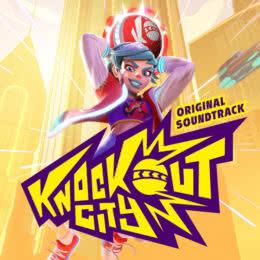 Обложка к диску с музыкой из игры «Knockout City»