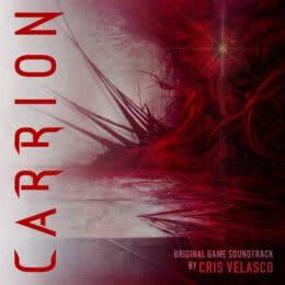 Обложка к диску с музыкой из игры «Carrion»