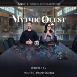 Обложка к диску с музыкой из сериала «Мистический квест: Пир ворона (1-2 сезон)»