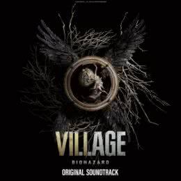 Обложка к диску с музыкой из игры «Resident Evil Village»