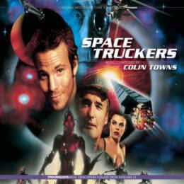 Обложка к диску с музыкой из фильма «Космические дальнобойщики»