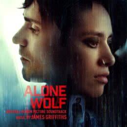 Обложка к диску с музыкой из фильма «Одинокий волк»