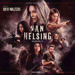 Обложка к диску с музыкой из сериала «Ван Хельсинг (1-5 сезон)»