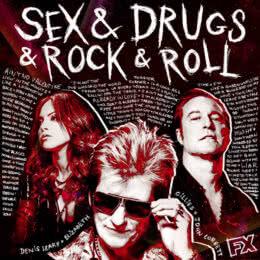 Обложка к диску с музыкой из сериала «Секс, наркотики и рок-н-ролл (2 сезон)»