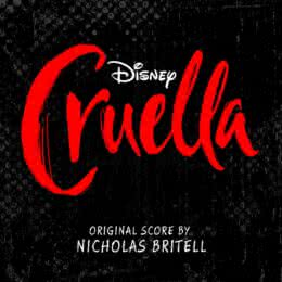 Обложка к диску с музыкой из фильма «Круэлла»