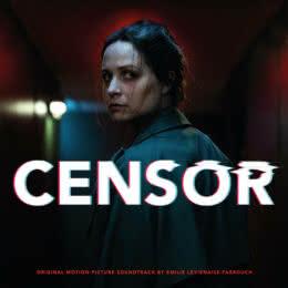 Обложка к диску с музыкой из фильма «Цензор»