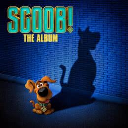 Обложка к диску с музыкой из мультфильма «Скуби-Ду!»