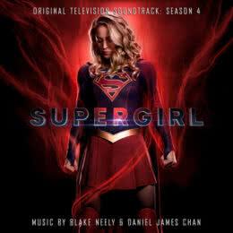 Обложка к диску с музыкой из сериала «Супергерл (4 сезон)»