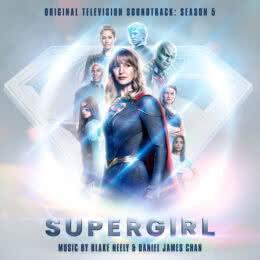 Обложка к диску с музыкой из сериала «Супергерл (5 сезон)»
