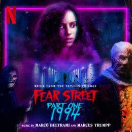 Обложка к диску с музыкой из фильма «Улица страха. Часть 1: 1994»