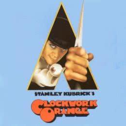 Обложка к диску с музыкой из фильма «Заводной апельсин»