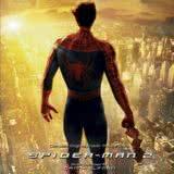 Маленькая обложка диска с музыкой из фильма «Человек-паук 2»