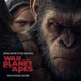 Обложка к диску с музыкой из фильма «Планета обезьян: Война»