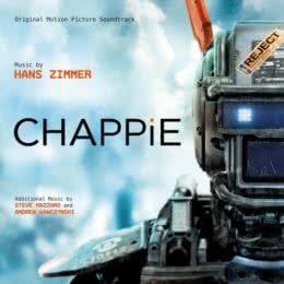 Обложка к диску с музыкой из фильма «Робот по имени Чаппи»