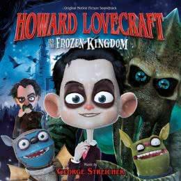 Обложка к диску с музыкой из мультфильма «Говард Лавкрафт и Замерзшее королевство»