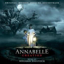 Обложка к диску с музыкой из фильма «Проклятие Аннабель: Зарождение зла»