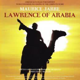 Обложка к диску с музыкой из фильма «Лоуренс Аравийский»