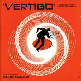 Обложка к диску с музыкой из фильма «Головокружение»
