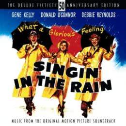 Обложка к диску с музыкой из фильма «Поющие под дождем (Deluxe Edition)»