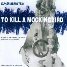 Обложка к диску с музыкой из фильма «Убить пересмешника»