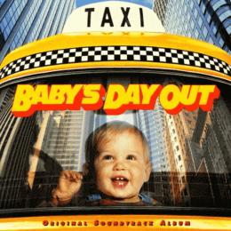 Обложка к диску с музыкой из фильма «Младенец на прогулке, или Ползком от гангстеров»