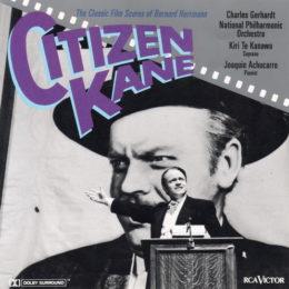Обложка к диску с музыкой из фильма «Гражданин Кейн»
