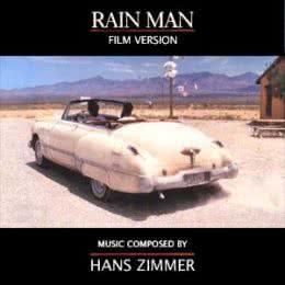 Обложка к диску с музыкой из фильма «Человек дождя»