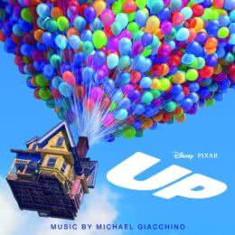 Обложка к диску с музыкой из мультфильма «Вверх»