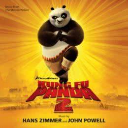 Обложка к диску с музыкой из мультфильма «Кунг Фу Панда 2»