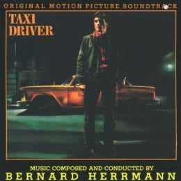 Обложка к диску с музыкой из фильма «Таксист»