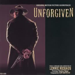 Обложка к диску с музыкой из фильма «Непрощенный»