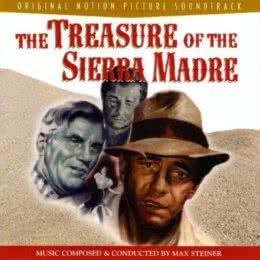 Обложка к диску с музыкой из фильма «Сокровища Сьерра Мадре»