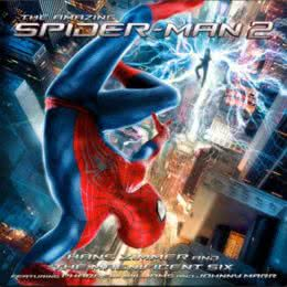 Обложка к диску с музыкой из фильма «Новый Человек-паук. Высокое напряжение»