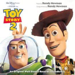 Обложка к диску с музыкой из мультфильма «История игрушек 2»